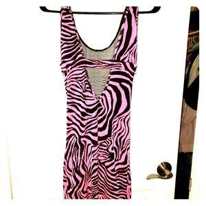 Dresses & Skirts - Pink & Black dress